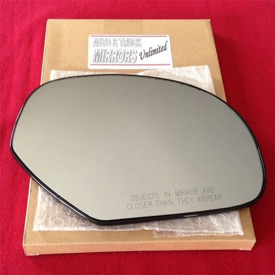 Fits Passenger Side Mirror Glass with Attached Bac
