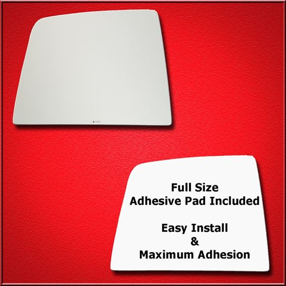 Mirror Glass Replacement + Full Adhesive for 10-18