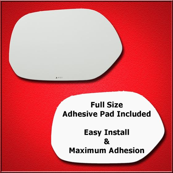 Mirror Glass + Full Adhesive for 04-06 Scion xB Dr