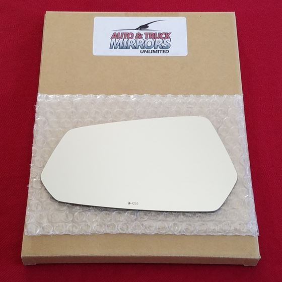 Mirror Glass + ADHESIVE for 10-15 Chevrolet Camaro