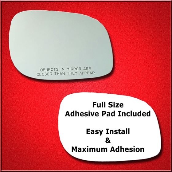 Mirror Glass Replacement + Full Adhesive for Freel