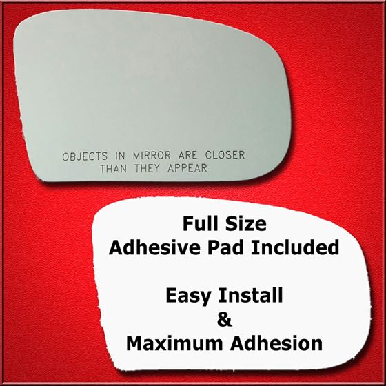 Mirror Glass Replacement + Full Adhesive for 00-06