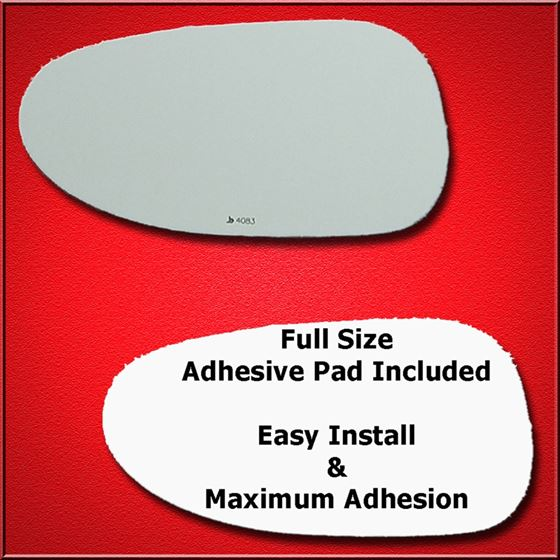 Mirror Glass Replacement + Full Adhesive for Solst