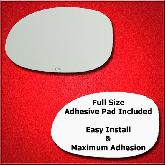 Mirror Glass Replacement + Full Adhesive for 300M,