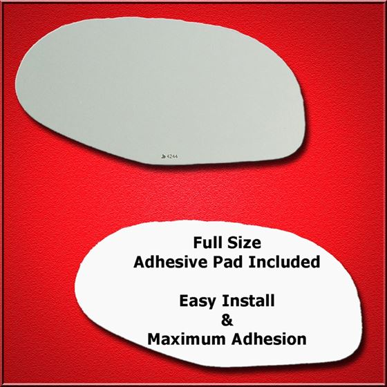 Mirror Glass Replacement + Full Adhesive for 03-04