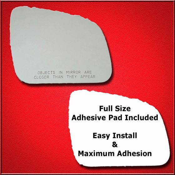 Mirror Glass Replacement + Full Adhesive for 2008