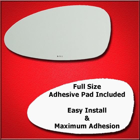 Mirror Glass Replacement + Full Adhesive for Porsc