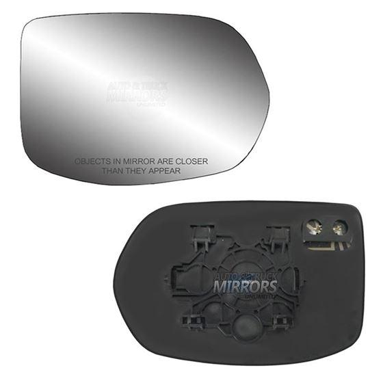 Fits 12-16 Honda CR-V Passenger Side Mirror Glass