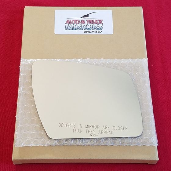 Mirror Glass + ADHESIVE for 10-13 Kia Soul Passeng