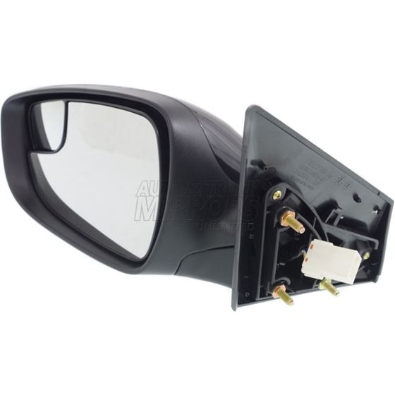 NEW LEFT POWER MIRROR BLACK WITH HEATED FITS 2014-2016 HYUNDAI ELANTRA HY1320208