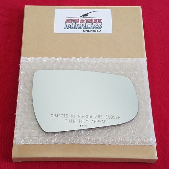 Mirror Glass + ADHESIVE for 13-15 Chevrolet Malibu