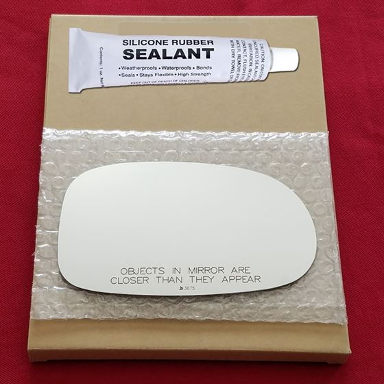 Mirror Glass + Silicone Adhesive for 00-03 Nissan