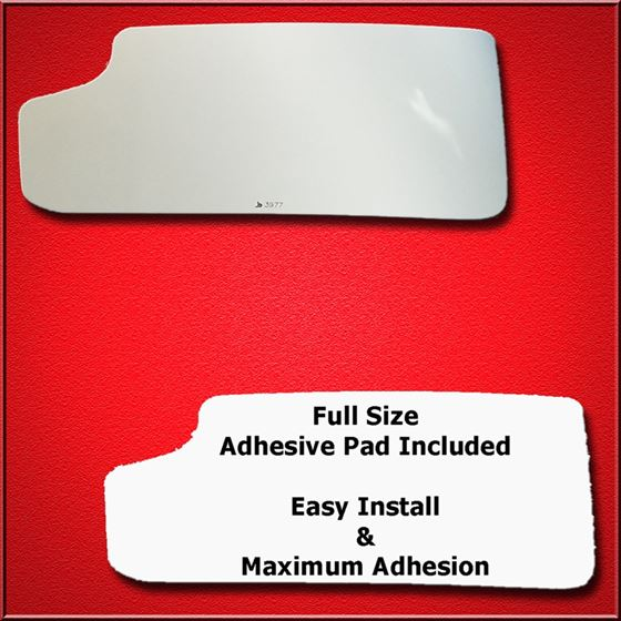 Mirror Glass Replacement + Full Adhesive for 16-17