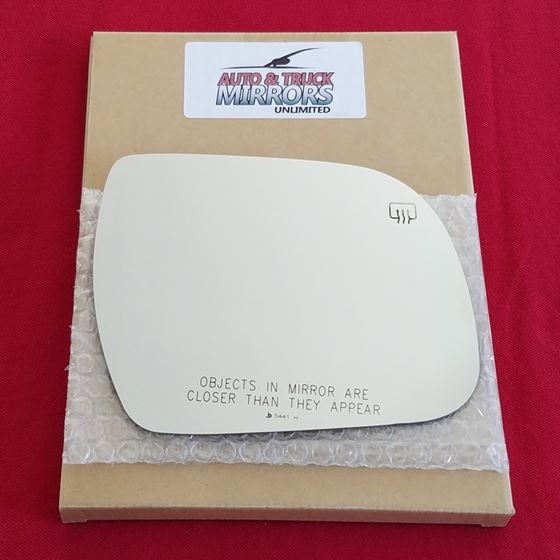 Mirror Glass + Adhesive for 11-14 Toyota Sienna Pa
