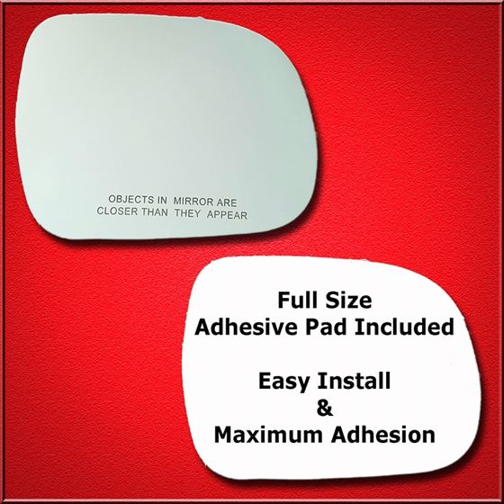 Mirror Glass Replacement + Full Adhesive for 05-11
