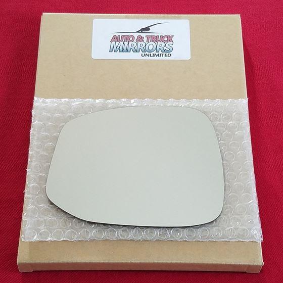 Mirror Glass + ADHESIVE for 12-13 Honda Civic Driv