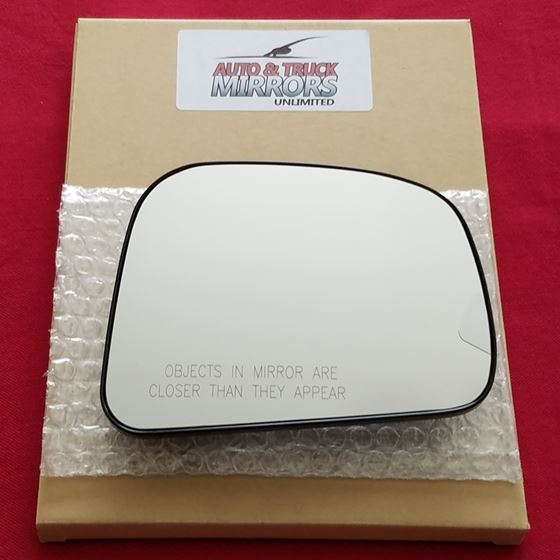 Mirror Glass with Backing for 07-11 Nissan Versa P