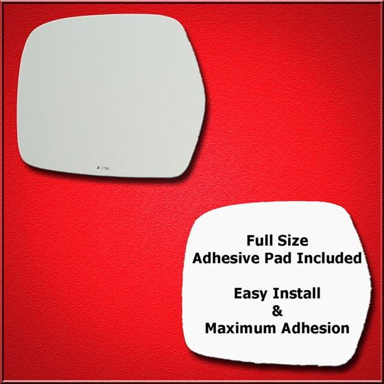 Mirror Glass Replacement + Full Adhesive for 98-07