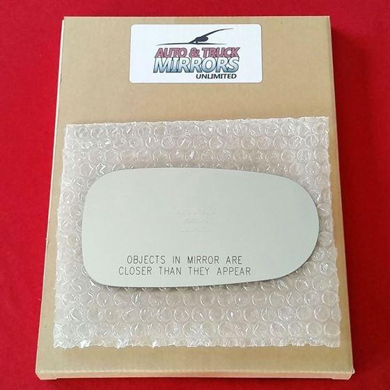 Fits 98-02 Mazda 626 Passenger Side Mirror Glass