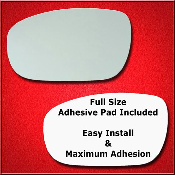 Mirror Glass Replacement + Full Adhesive for 300,