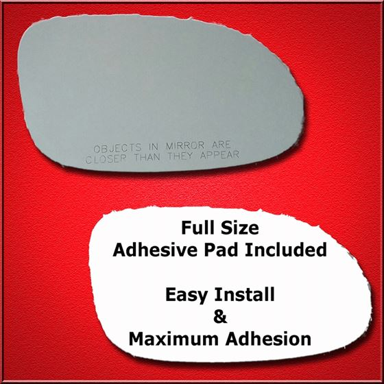 Mirror Glass Replacement + Full Adhesive for 98-08