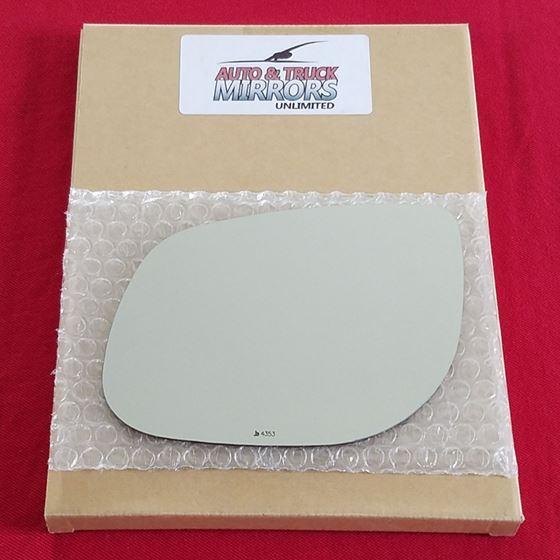 Mirror Glass for 10-10 Kia Forte Driver Side Repla