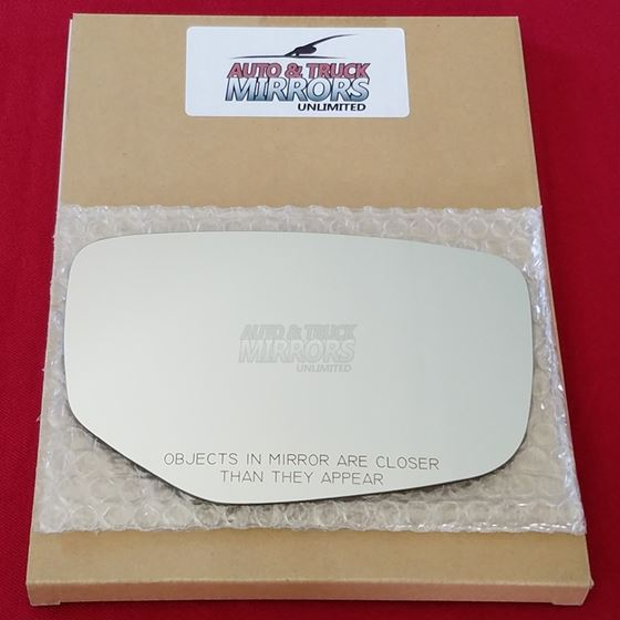 Mirror Glass + ADHESIVE for 13-17 Accord Passenger