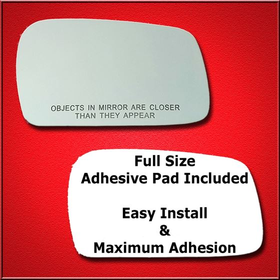 Mirror Glass Replacement + Full Adhesive for Prelu