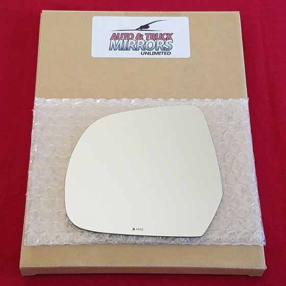 Mirror Glass + ADHESIVE for 11-17 Nissan Leaf Driv