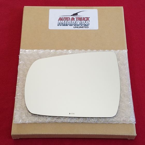 Mirror Glass + ADHESIVE for 11-13 Kia Sorento Driv