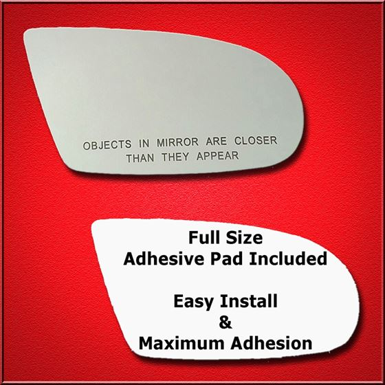 Mirror Glass Replacement + Full Adhesive for Lumin