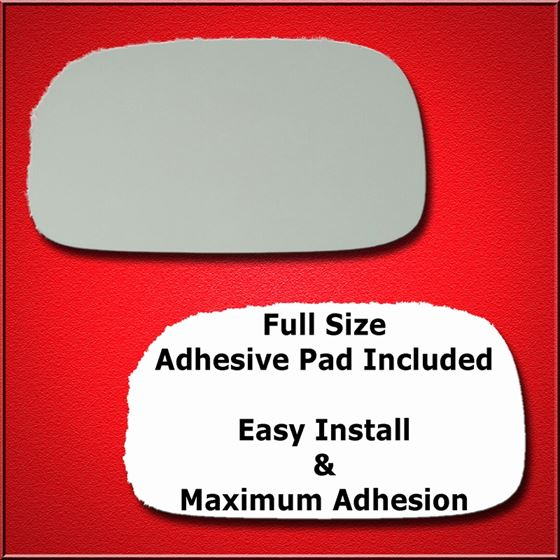 New Replacement Mirror Glass with FULL SIZE ADHESIVE for Subaru Legacy Outback Passenger Side View Right RH