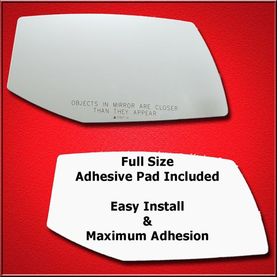 Mirror Glass + Full Adhesive for 04-09 Cadillac SR