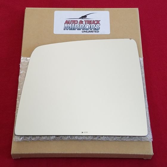 Mirror Glass + ADHESIVE for 10-18 Toyota Tundra Dr