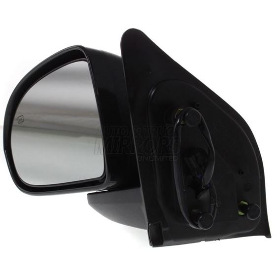 Fits 07-16 Jeep Compass Left Driver Mirror Power Textured Black Non Heated