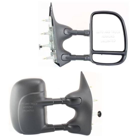 03-14 Ford E-Series Passenger Side Mirror Assembly