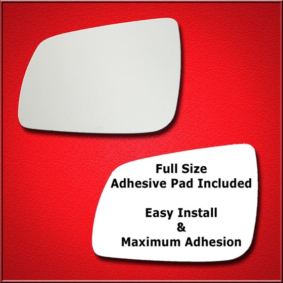 Mirror Glass Replacement + Full Adhesive for 08-14