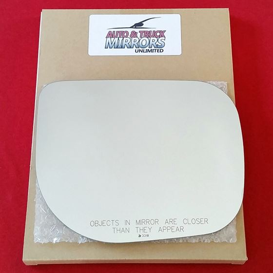 Mirror Glass + ADHESIVE for 10-15 Nissan Armada,Ti