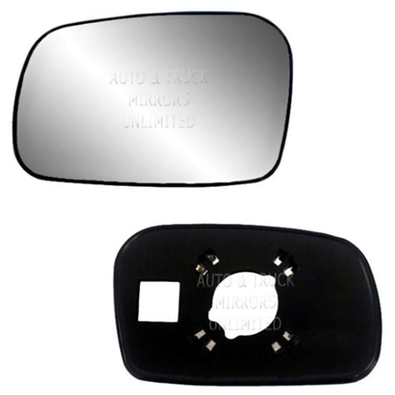 New Door Mirror Glass Replacement Driver Side For Honda Civic 06-11