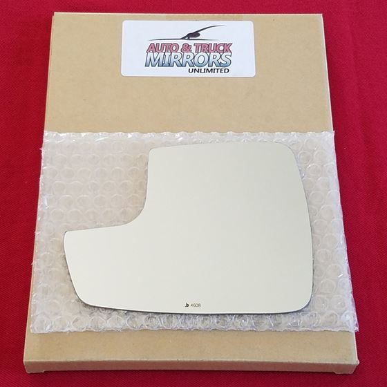 Mirror Glass + ADHESIVE for 15-18 Ford Edge Driver