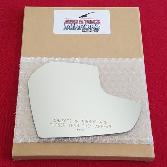 Mirror Glass + ADHESIVE for 17-18 Ford Escape Pass