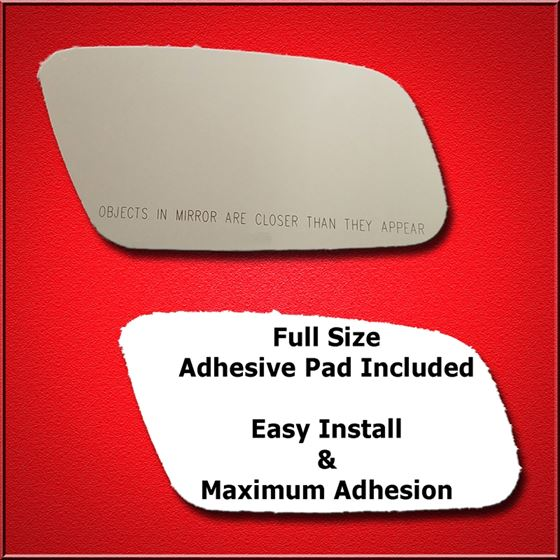 Mirror Glass Replacement + Full Adhesive for Audi