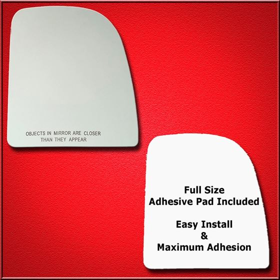 Mirror Glass Replacement + Full Adhesive for Super