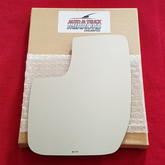 Mirror Glass + ADHESIVE for Ford E-150, E-250, E-3