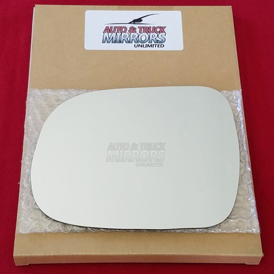 Mirror Glass + ADHESIVE for 12-15 Toyota Tacoma Dr