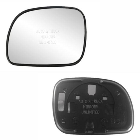 Fits 96-07 Dodge Caravan Driver Side Mirror Glass