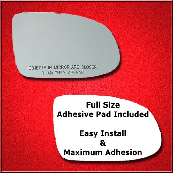 Mirror Glass Replacement + Full Adhesive for 97-99
