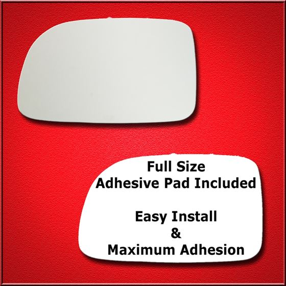Mirror Glass Replacement + Full Adhesive for 07-09