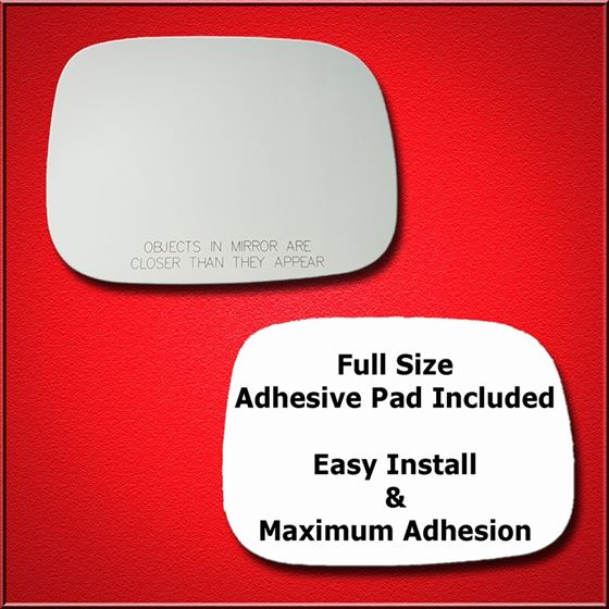 Mirror Glass Replacement + Full Adhesive for V70,