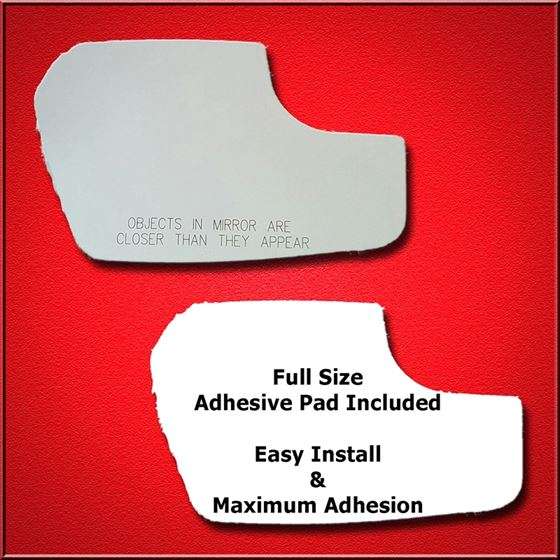 Mirror Glass Replacement + Full Adhesive for Fusio